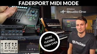 All about the NEW Faderport MIDI Mode! (Faderport 8 & 16)
