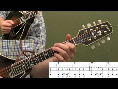 We Wish You A Merry Christmas Beginner Mandolin Lesson