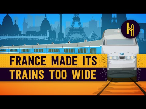 How France Bought 2,000 Trains That Were Too Wide