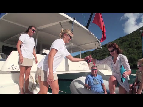 Catamaran ZINGARA - Luxury Crewed Yacht Charters in the BVI