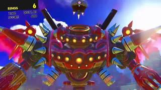 Sonic Forces - Boss: Eggman + Egg Dragoon