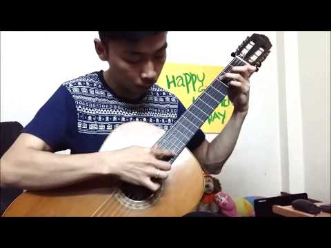 The Prayer - Celine Dion & Andrea Bochelli (Ungrumso Raman Guitar Cover)