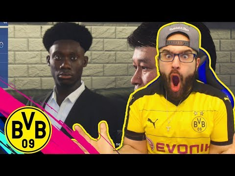 OMG TES! YEAR 17 YEAR OLD STAR SIGNED!! FIFA 19 DORTMUND Career mode #03