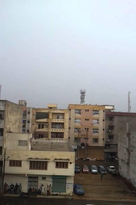 rain in karachi... this transformer just bazooked