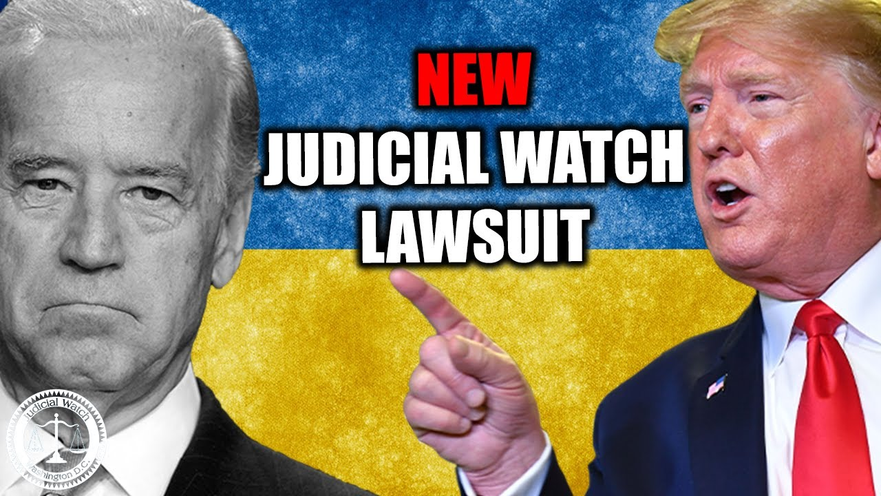 Judicial Watch NEW: Judicial Watch Files Lawsuit over Firing of Biden-Ukraine Prosecutor