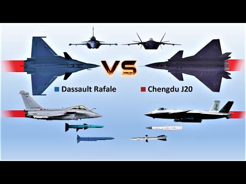 Dassault Rafale vs Chengdu J20   Who would win?