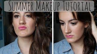 Easy Summer Makeup Tutorial   Sara Kay