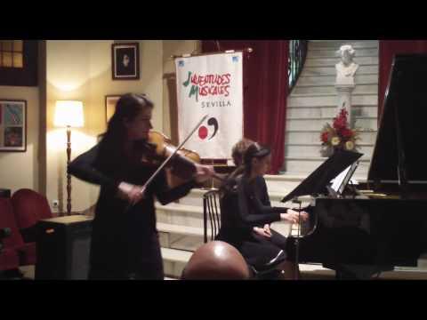 Ravel Sonata nº2. III. Perpetuum Mobile. Macarena Martinez & Barbara Panzarella