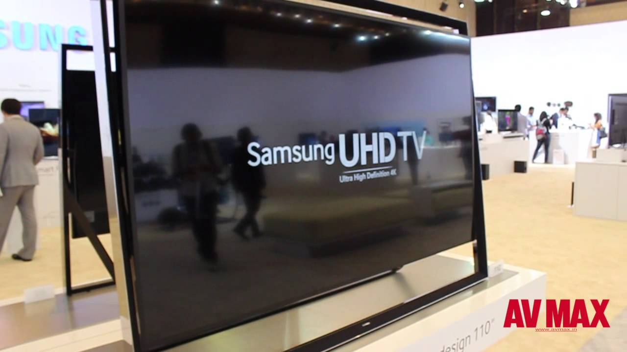 Samsung Forum 2014 Samsung 110 Inch Uhd Tv Youtube