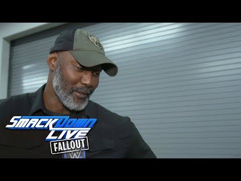 Karl Malone describes returning to the squared circle: SmackDown LIVE Fallout, Jan. 2, 2018