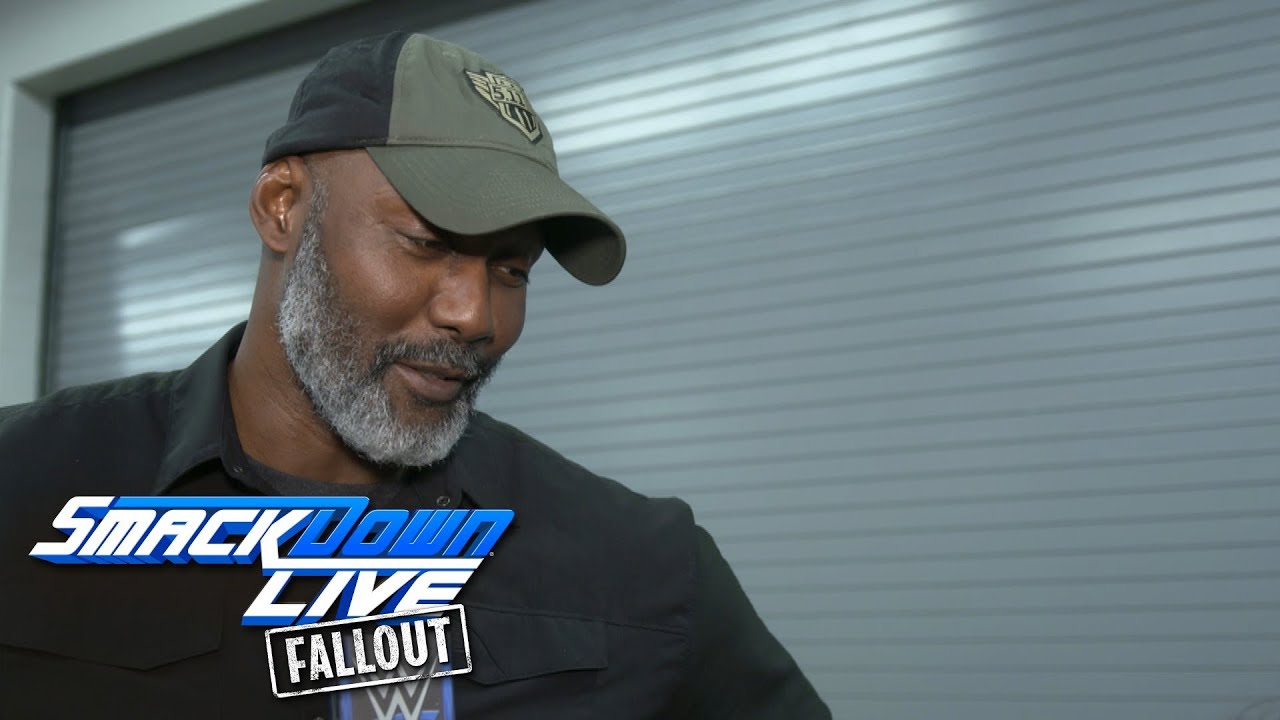 Karl Malone describes returning to the squared circle  SmackDown LIVE  Fallout 4ebcb236987d