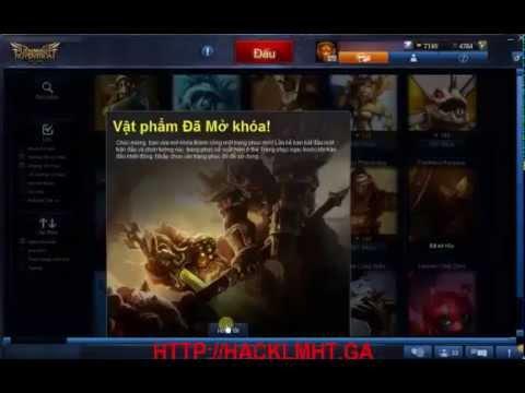 hack tuong lien minh huyen thoai mien phi - Hack RP Liên Minh Huyền Thoại, Hack Sò Garena, Hack RP LOL Miễn Phí
