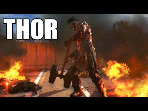 Dying Light The Following - Defeat THOR - Easy Way to Kill the Thor