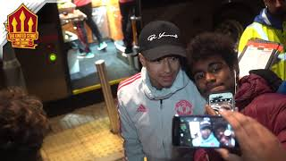 LINGARD & POGBA With MAN UTD Fans! Cardiff vs Manchester United 1-5 Reaction
