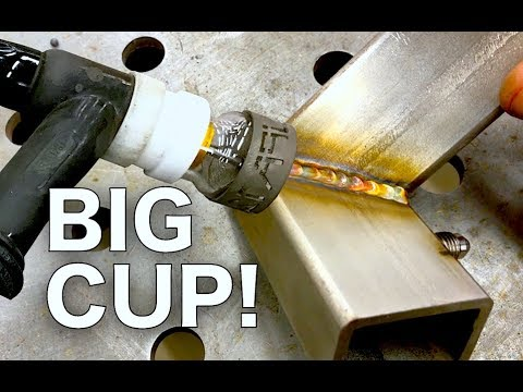 FUPA Cup Vs  Standard Is there a Difference? #12 Furick Fupa - Stainless Tig Welding