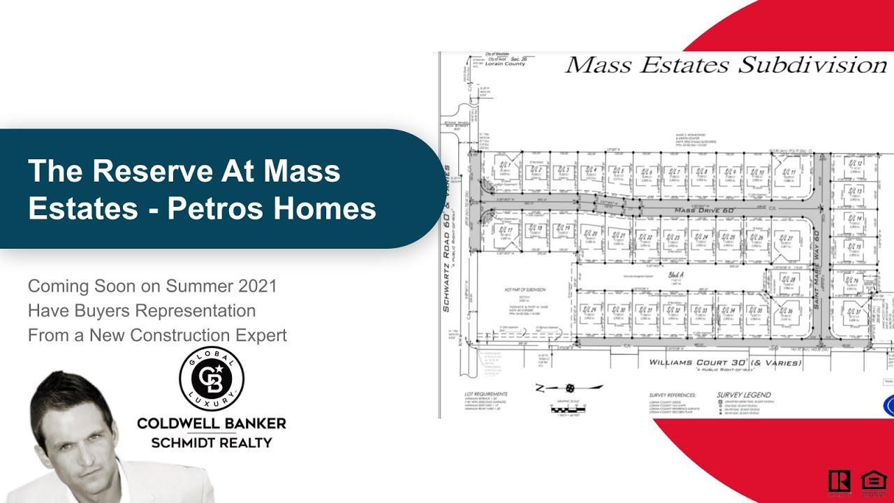 The Reserve at Mass Estates Avon Ohio Coming Soon