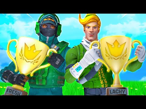 Lachlan & Fresh in Champion League Fortnite! (Ranked)