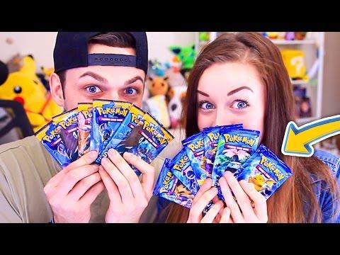 EPIC Pokemon Card CHALLENGE! (Ali vs Clare)