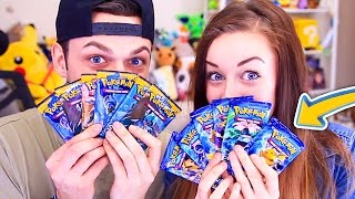 EPIC Pokemon Card CHALLENGE! (Ali vs Clare)