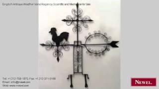 English Antique Weather Vane Regency Scientific And Mechanic