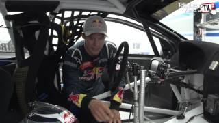 Vi åker med i Mattias Ekströms rallycrossbil