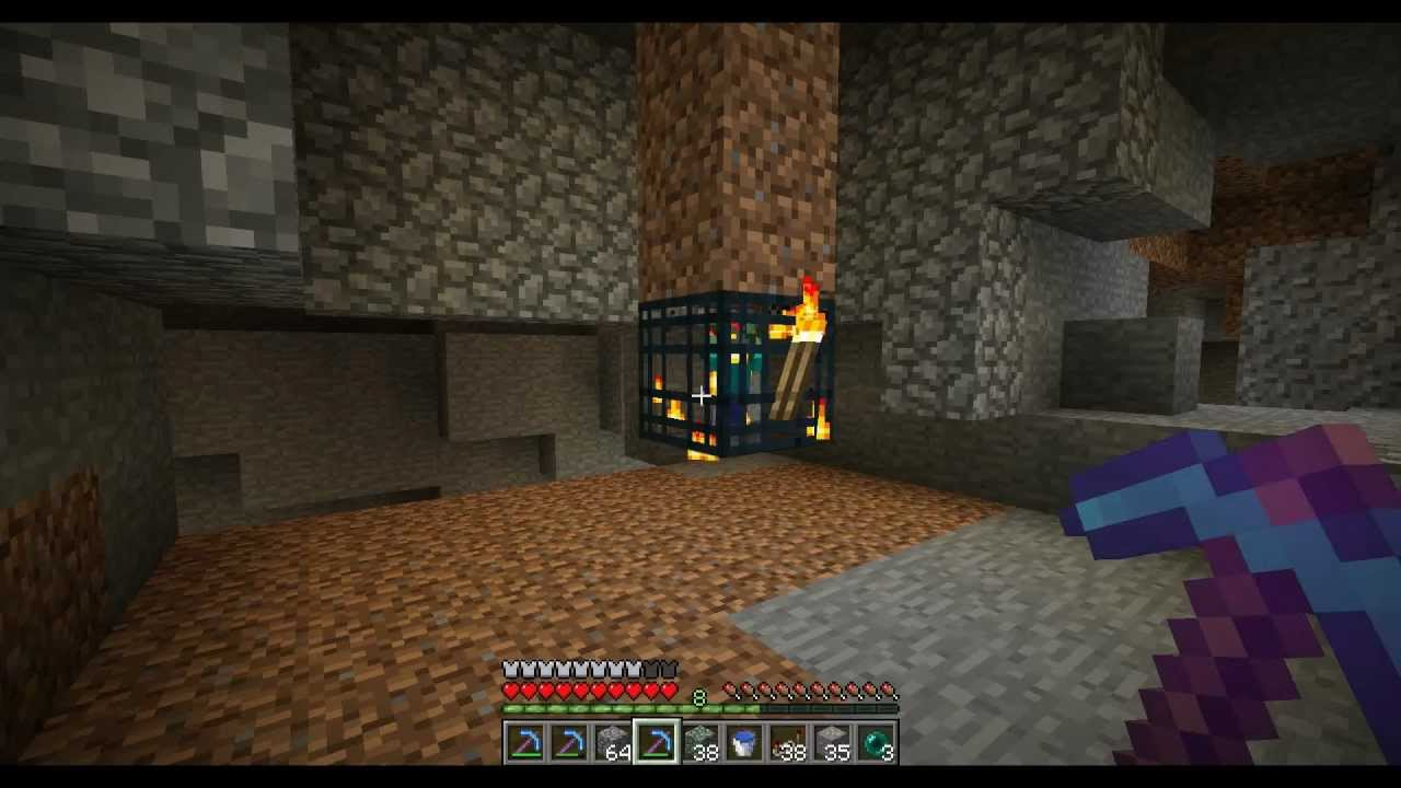 can you silk touch spawners in minecraft