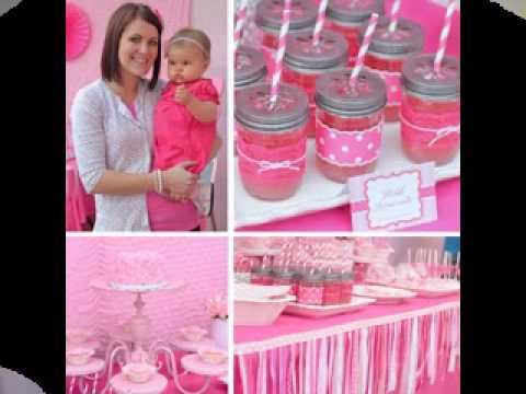 Cute First Birthday Party Ideas For Girls Youtube