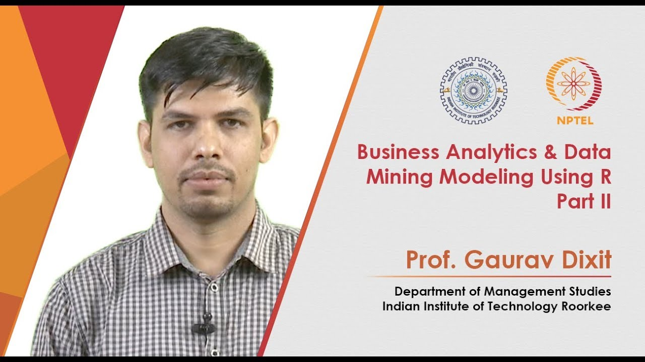 Business Analytics & Data Mining Modeling Using R Part II