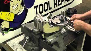 how to install a husky pj373 air compressor belt