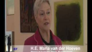 H.E. Maria van der Hoeven, Minister of Economic Affairs, the Netherlands
