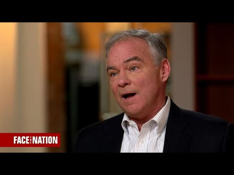 Sen. Tim Kaine discusses President Trump, Charlottesville