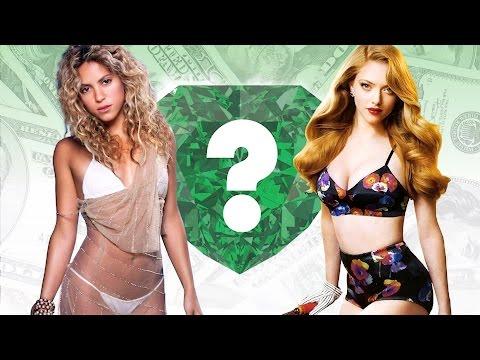 WHO'S RICHER? - Shakira or Amanda...