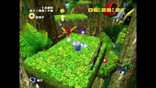 Sonic Adventure 2 (PC) Green Forest No A button