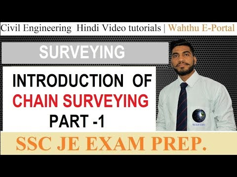 What is Chain Surveying Part 1 || SSC JE Preparation 2018 || Civil Engineering