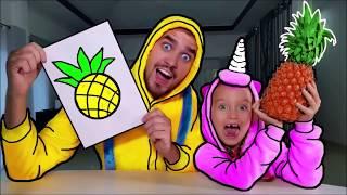 Aprende colores con frutas y verduras para niños cantos infantiles canciones para niños