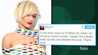 Rita Ora Fails To Get 100k RTs, Claims Twitter Hack