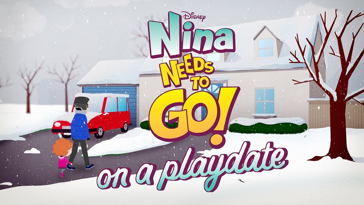 on a playdate nina needs to go disney junior youtube