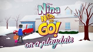 On A Playdate | Nina Needs to Go | Disney Junior