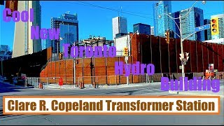 Toronto's Cool New Transformer Station Is Almost Ready - Clare R Copeland Transformer Station