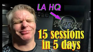 15 sessions in 5 days straight @ 10th Planet HQ LA Gym  - see what happened!