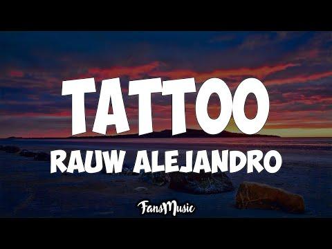Rauw Alejandro - Tattoo (Letra)