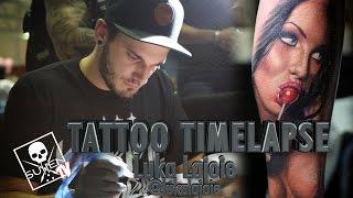 Tattoo Time Lapse - Luka Lajoie