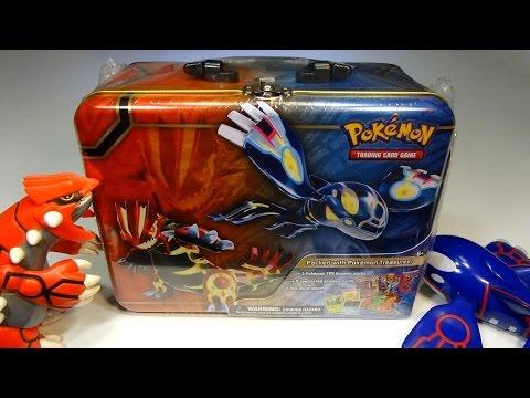 Opening: Pokemon Treasure Chest! ORAS-themed lunchbox tin FULL of goodies!
