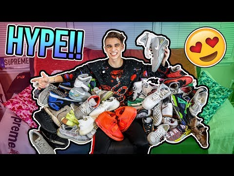 The Most Hypebeast Sneakers in my Collection!! (Nike, Adidas, Supreme, Gucci + More)