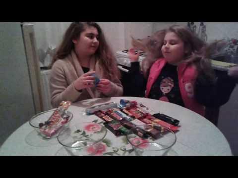 Ablamla birlikte çikolata challenge