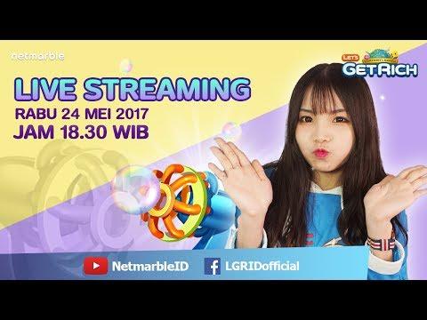 Let's Get Rich Live Streaming#36 - Mabar dengan Milokuma