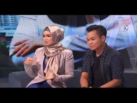 Hyrul Anuar & Dato Siti Nurhaliza on The 5 Show
