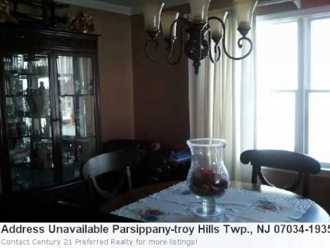 Homes For Sale In Parsippany-Troy Hills Twp., Nj! Take A Pee