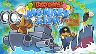 ZABAWA WODNYMI MAŁPKAMI | #017 | Bloons Monkey City | PL