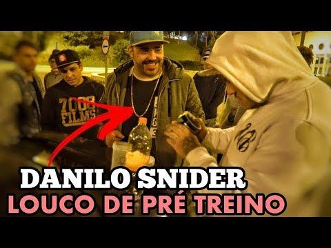 LOUCO DE PRE TREINO I DANILO SNIDER